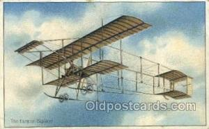The Ferman Biplane Airplane, Airlines, Old Vintage Antique Postcard Post Card...