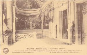 Belgium Brussels Hotel de Ville Escalier d'honneur