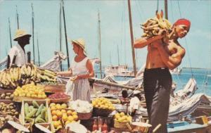 Bahamas Nassau Scene At The Waterfront Market