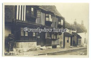 tq1098 - The 13th Century Tudor Star Inn Freehouse, in Alfriston - postcard