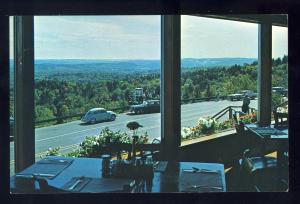 Marlboro, Vermont/VT Postcard, Dining Room, Skyline Restaurant, Volkswagon,1968!