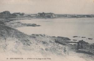 Sidi Ferruch Algiers Hotel Antique Postcard