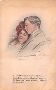 Love, A Toniolo Writing on back