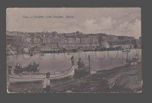 081321 MALTA View of Valletta from Senglea Vintage PC