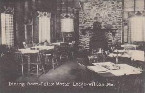Maine Wilton Dining Room Felix Motor Lodge Artvue