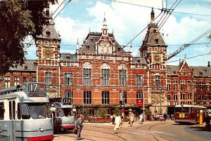 Amsterdam Holland Central Station Amsterdam Central Station