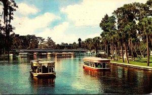 Florida Silver Springs Glass Bottom Boats 1968