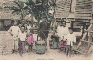 SINGAPORE - Malay Hawker , 00-10s