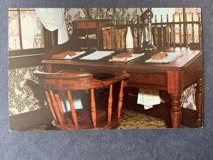Mr. Lincoln's Desk Lincoln's Home Springfield IL Chrome Postcard H1164090731