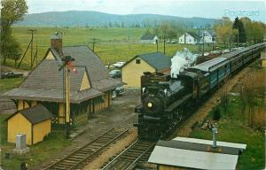 Railroad, NJ, Great Meadows, New Jersey, Steam Train, Canadian Pacific, Scheller