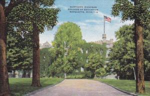 Michigan Marquette Northern Michigan College Of Education 1954