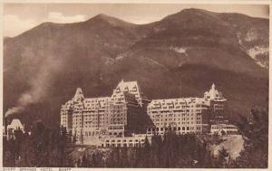 Banff Springs Hotel, Banff, Alberta, Canada, 10-20s