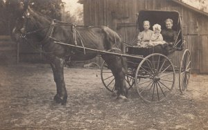 RP: Horse & buggy , 1912