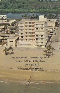 HOLLYWOOD BEACH, Florida, PU-1986; The Woodbury Co-Operative Apts.