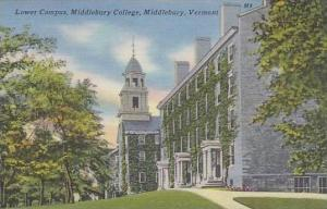 Vermont Middlebury Lower Campus Middlebury College