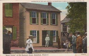 HANNIBAL , Missouri, 1930s ; Mark Twain at home