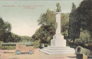 Gibraltar Duke Of Wellington Monument