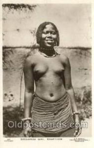 Spodanese Girl, Khartoum African Nude Nudes Postcard Post Card  Spodanese Gir...