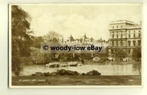tp8547 - London - Government Buildings seen from St.James Park c1938 - Postcard
