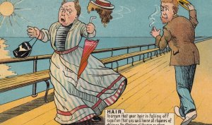 HAIR ; To dream your hair is falling off.... , 1907