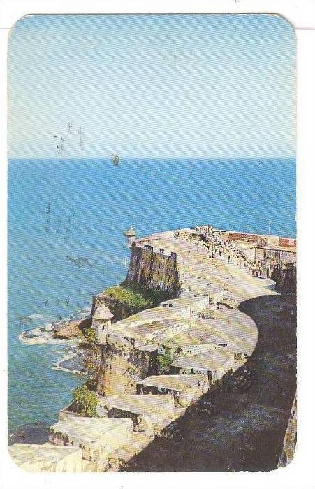 El Morro Castle, San Juan, Puerto Rico,PU-40-60s