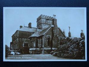 Lancashire BLACKBURN Bishop's House - Old RP Postcard