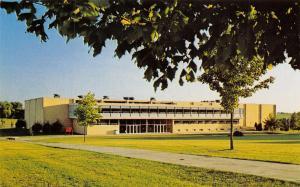 Platteville~University of Wisconsin~Williams Fieldhouse~Gymnasium~Pool~1970s PC