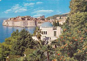 Yugoslavia Dubrovnik Coastal Scene