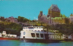 Canada Quebec La Cite Quebec View From Ferry Boat 1985