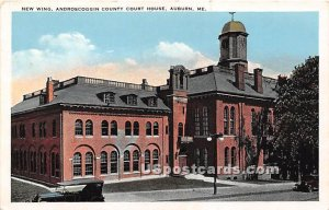 New Wing of Androscoggin County Court House in Auburn, Maine