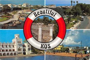 Greece Beautiful Kos different views, Greetings, island