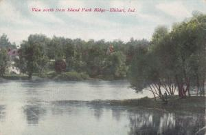 View north from Island Park Ridge - Elkhart, Indiana, 00-10s