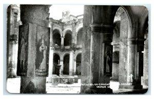 Postcard Patios del Ex-Convento de Santo-Domingo, Oaxaca Mexico RPPC Y62