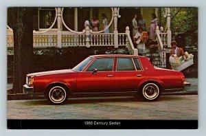 1980 Buick Century Sedan Chrome Postcard