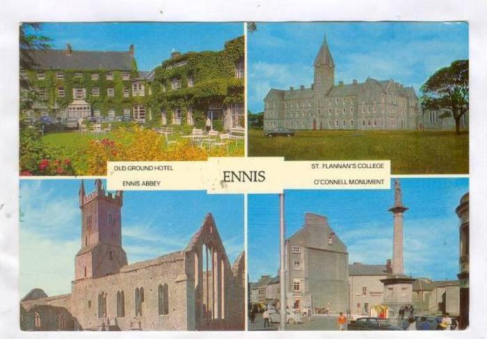 4Views, Old Ground Hotel, Ennis Abbey, St. Flannan´s College, O´Connell Mon...