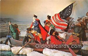 Washington Crossing the Delaware American Wax Museum, Philadelphia, PA Patrio...