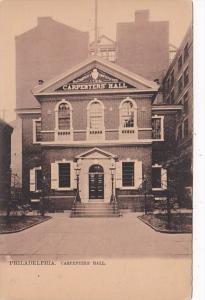 Pennsylvania Philadelphia Carpenters' Hall Tucks