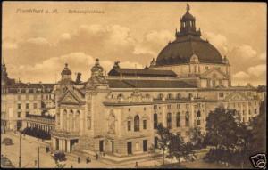 germany, FRANKFURT, Schauspielhaus, THEATRE (1912)