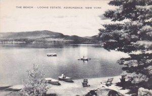 New York Adirondack The Beach Loomis Estate Artvue