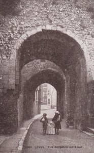 LEWES, Sussex, England, 1900-1910s; The Barbican Gateway