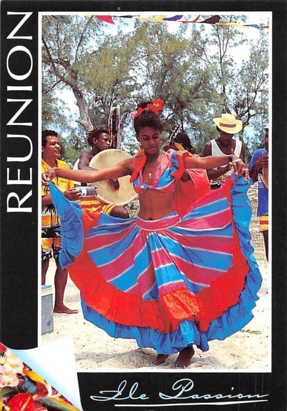 Ile de La Reunion, Danseuse de Sega Dancers