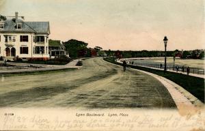 MA - Lynn. Lynn Boulevard circa 1900