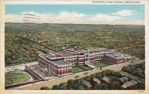 Nebraska Omaha Technical School 1938 Curteich