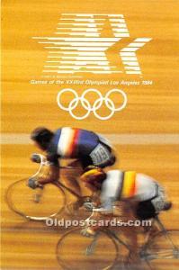 Cycling, 1984 Los Angeles Olympics Los Angeles, California, CA, USA Unused