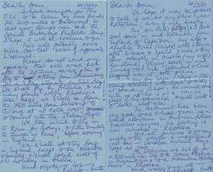 Rhodesia Know The Truth Police State 2x 1966 Air Letter