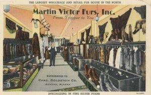 RP:  JUNEAU , Alaska , 1930-40s ; Martin Victor Furs Inc., Store Interior