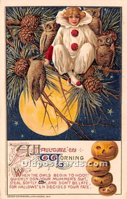 Artist Samuel Schmucker Morning Haloween 1916