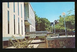 Kingston, Rhode Island/RI Postcard, Library At University Of