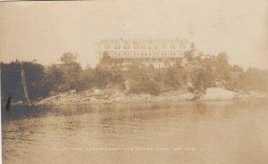 RP; CHRISTMAS COVE , Maine , 1924 ; Holly Inn Looking East