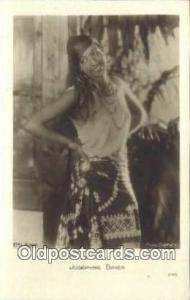 Josephine Baker Postcard Post Card Old Vintage Antique Actor Actress, Movie S...